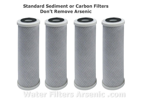 Carbon Filters and Arsenic